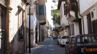 Salahi Sevket Street (Victoria Street) in Arabahmet, Nicosia, North Cyprus