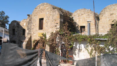 The Kumarcilar Han (Gamblers' Inn), Nicosia, North Cyprus