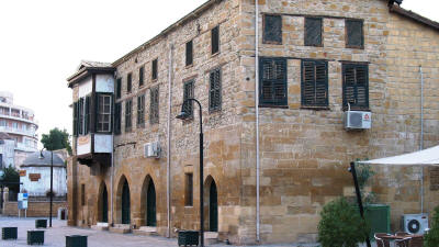 The Latin Archbishopric Palace, Nicosia, North Cyprus