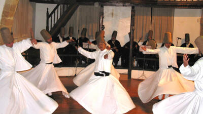 Whirling Dervishes at the Mevlevi tekke, Nicosia, North Cyprus