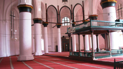 The interior of the Selimiye Mosque, Nicosia, north cyprus