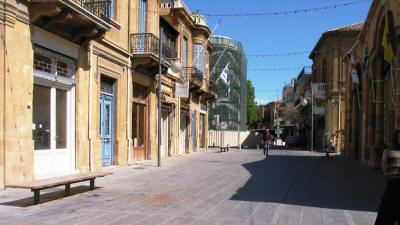 The Phaneromeni area of Nicosia, South Cyprus