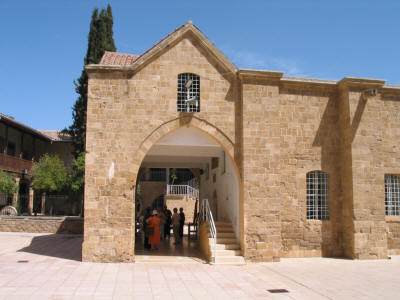 St John's cathedral northern entrance, Nicosia, South Cyprus
