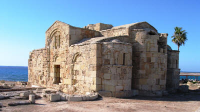 Ayios Philon church near Dipkarpaz, North Cyprus