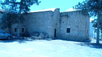 The tekke of Kutup Osman, Famagusta, North Cyprus