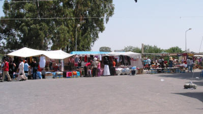 The weekly market at Guzelyurt (Morphou), North Cyprus