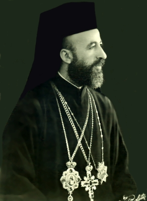 Archbishop Makarios, 1st president of the Republic of Cyprus