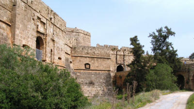 The Venetian walls of Famagusta, North Cyprus