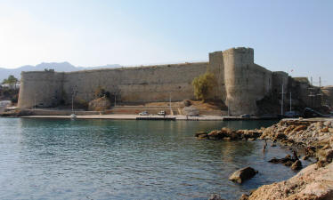 The castle at Kyrenia, North Cyprus.