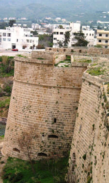 The Venetian South east tower at Kyrenia castle