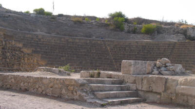 The theatre at Soli, near Lefke, North Cyprus