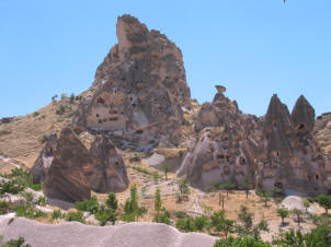 Rock Castles at Uchisar