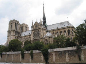 Notre Dame, Paris, from the river