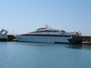 The Tasucu/Girne catamaran