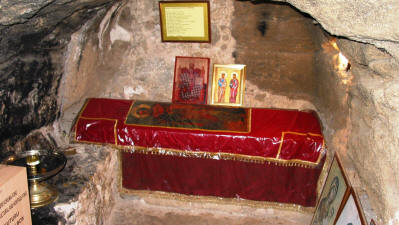 The grave of St Barnabas, Salamis, Famagusta, North Cyprus