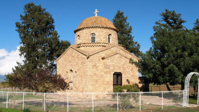 The mausoleum of st Barnabas, salamis, Famagusta, North Cyprus