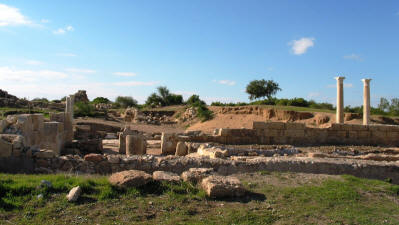 The ancient city of Salamis, near Famagusta, North Cyprus