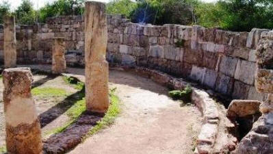 Latrines at the Gymnasium, Salamis, near Famagusta, North cyprus