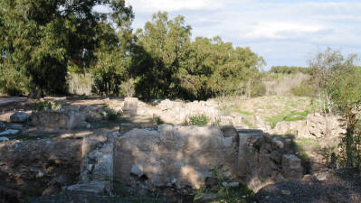 The Roman villa at Salamis, near Famagusta, North Cyprus